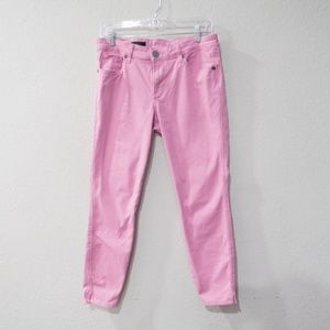 Kut from the Kloth Ellen Ankle Skinny Jeans Pink